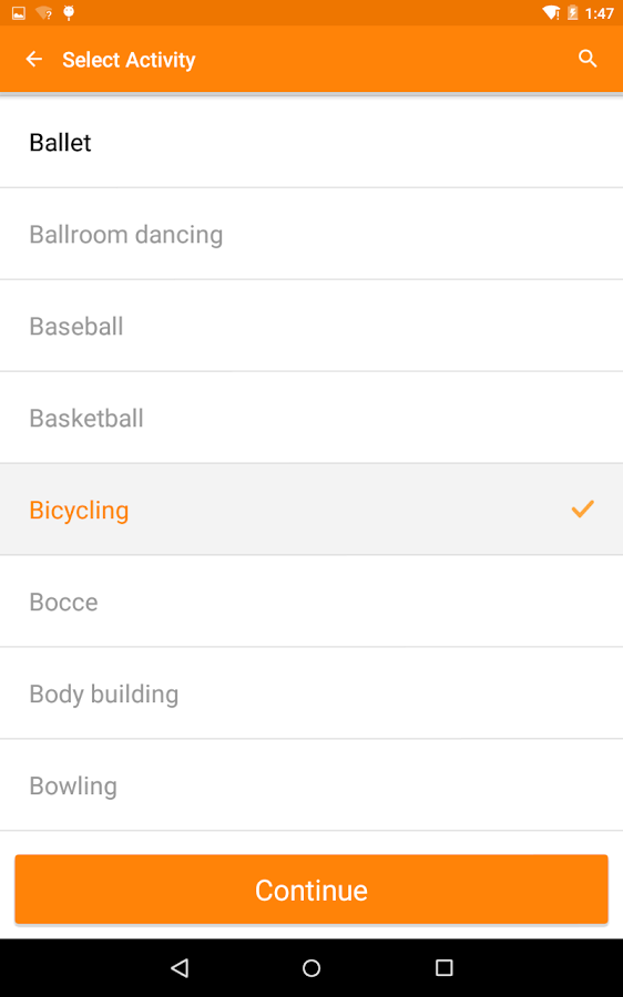 Burn It Off - Fitness Pal- screenshot