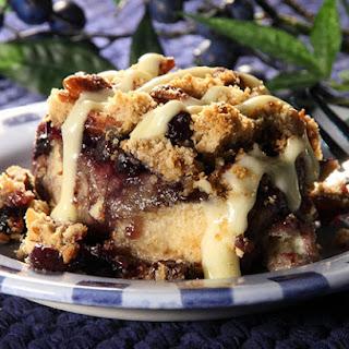 Cinnamon Blueberry Crumble