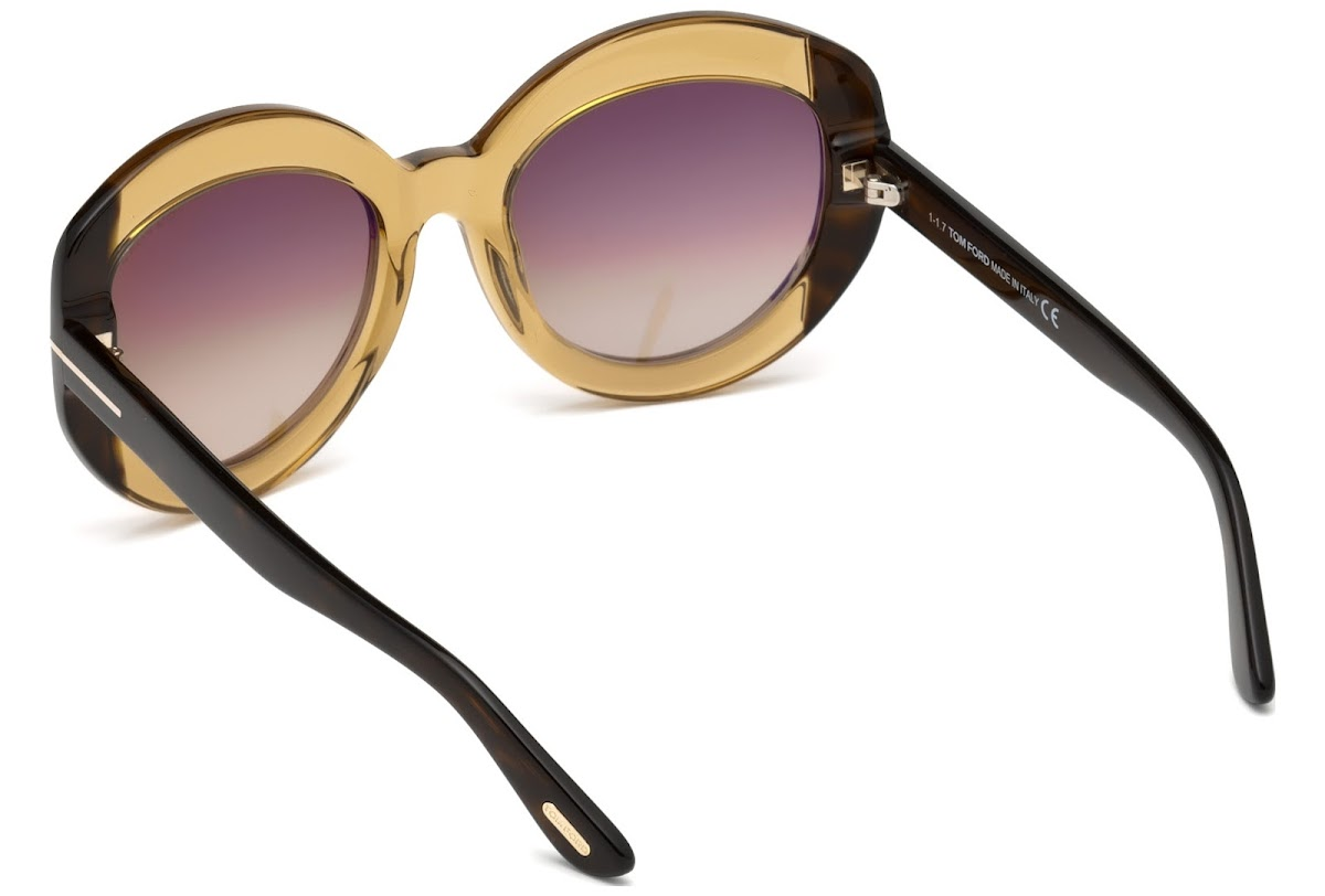 52bb7941e3ab6 Sunglasses Tom Ford Bianca-02 FT0581 C56 47F (light brown other   gradient  brown)