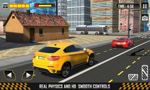 電気タクシーカーシミュレーター3D