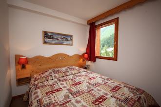Photo: Chambre double d'un appartement de la résidence