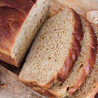 New England Style Anadama Bread.