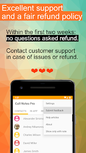 Call Notes Pro - check out who is calling Screenshot