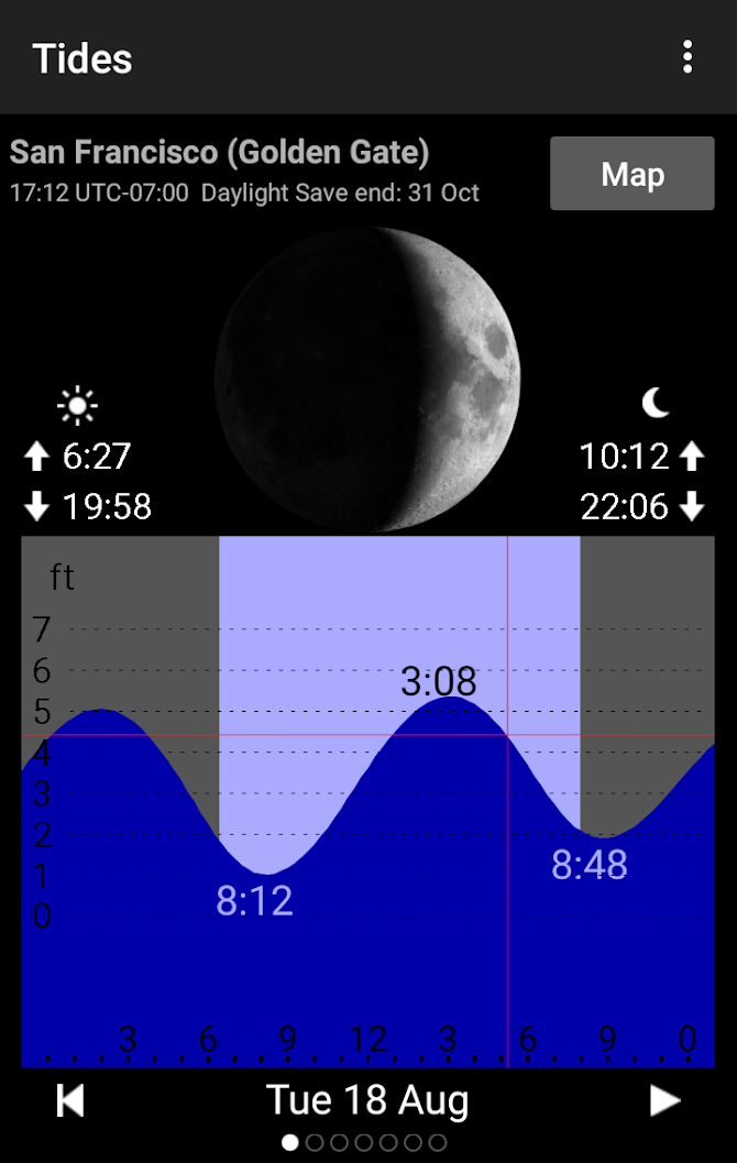 Tide Table Chart Android 4