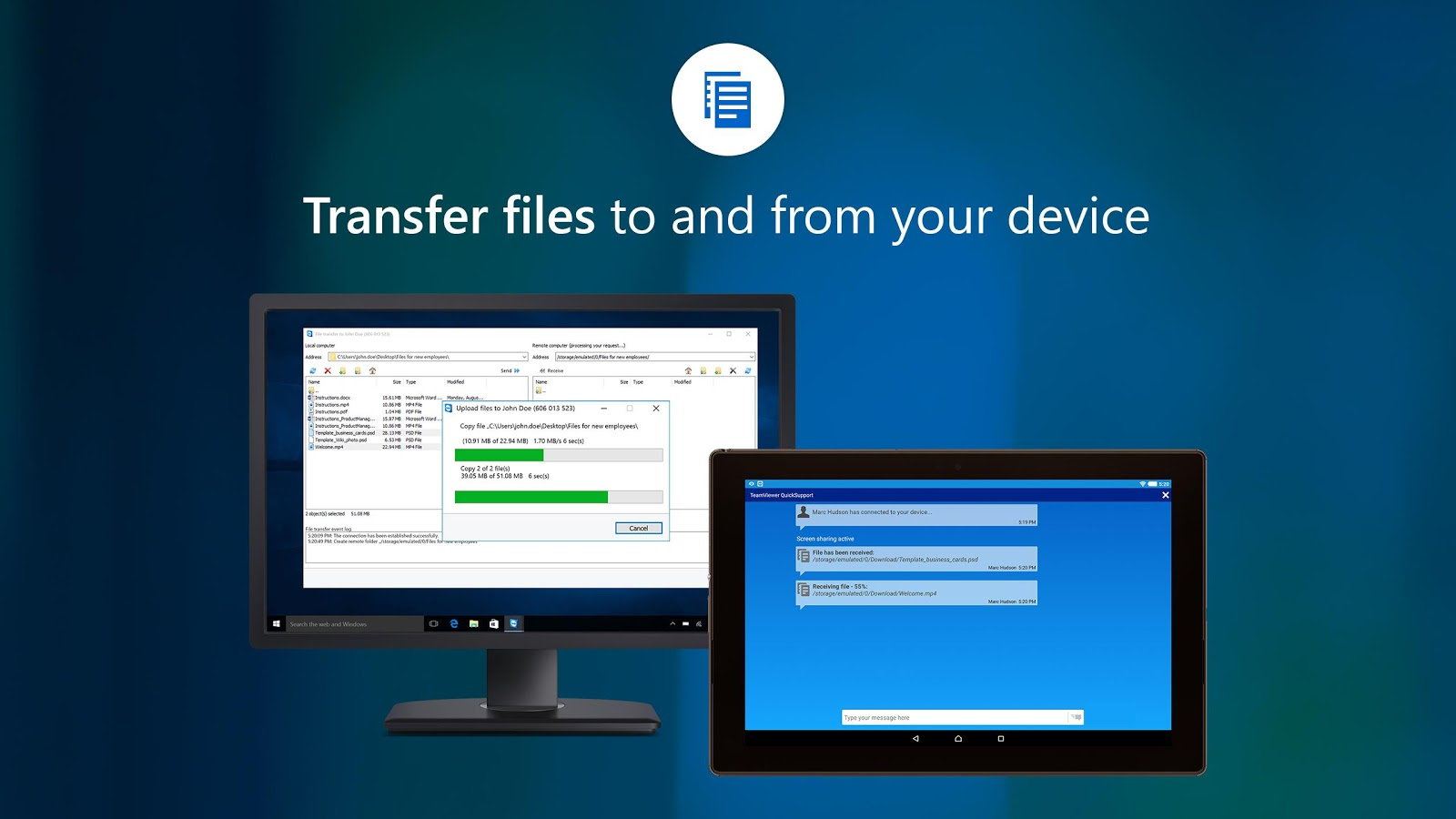 TeamViewer QuickSupport – Screenshot