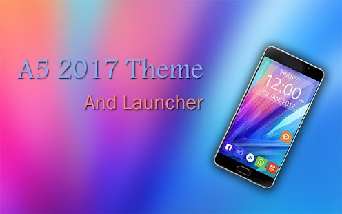 Theme and Launcher for A5 2017 screenshot