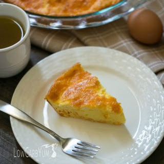 Egg Fast Cheese Quiche