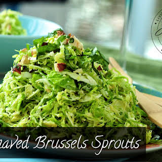Shaved Brussels Sprouts.