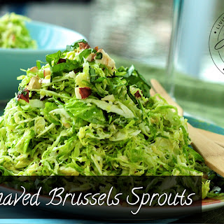 Shaved Brussel Sprouts Recipes.