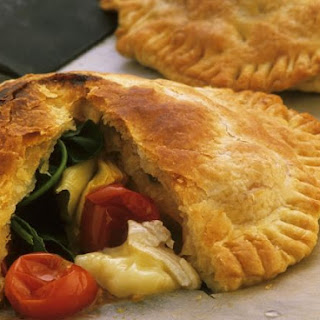 Pasties with Vegetable and Cheddar Filling