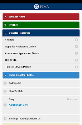 FEMA - screenshot