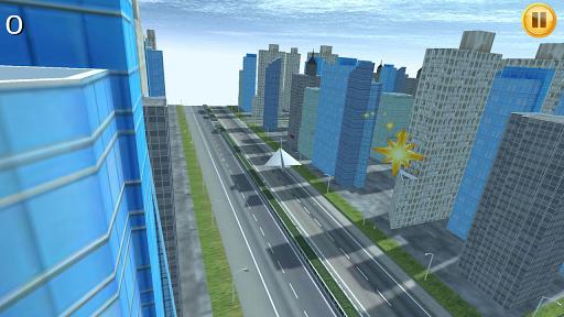 Paper Plane City Flying 3D