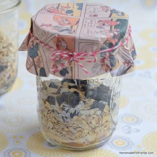 Homemade Oatmeal in a Jar Recipe