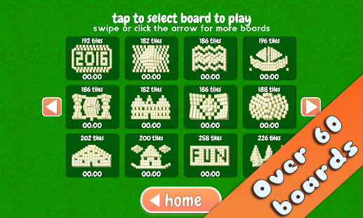 Mahjong Holiday Joy 2016 Screenshot