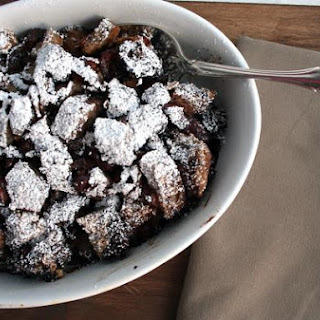 Cherry Chocolate Bread Pudding