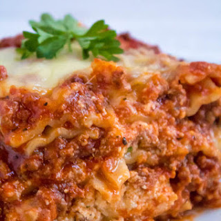 THE Best Lasagna EVER.