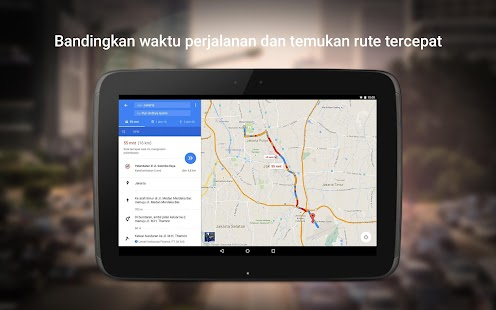 Maps - Navigasi & Transportasi Screenshot