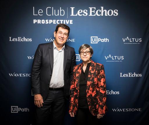 CLUB LES ECHOS PROSPECTIVE AVEC CATHERINE GUILLOUARD - VALTUS