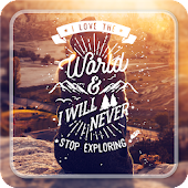 Typography Master - Text on photo, quotes text