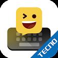 Facemoji Keyboard for Tecno-Themes & Emojis