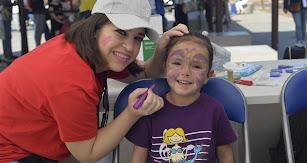 Leonor Contreras fue una de las primeras afortunadas en pasar  por el pintacaras de A toda vela.