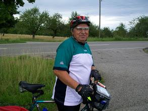 Photo: 7e Dag, woensdag 22 juli 2009 Shellbronn -Melchingen Dag afstand: 81,6 km. Totaal gereden: 664 km Mijn gids Josef.