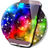 Rainbow Galaxy Locker Theme