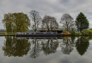 Photo: Quiet winter's day on the canal - Moreton Valence, Glos