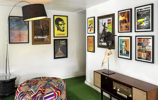 Miliki: Home to a vintage poster collection. Picture: ZEMAYE OKEDIJI