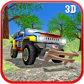 Toy Truck Offroad Rally Driving