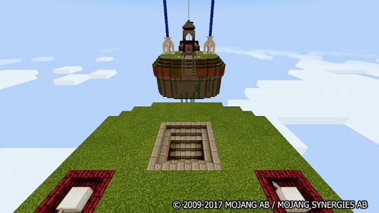 Egg Wars Minecraft map - náhled