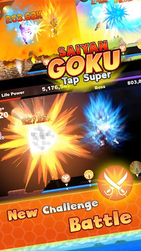 Saiyan Goku Tap Super Z  screenshots 2