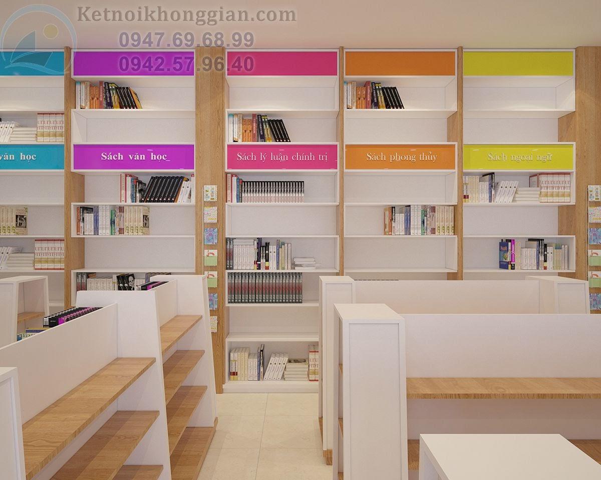 thiết kế nhà sách tại Quảng Ninh