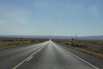Photo: Driving toward Trinity from Socorro, NM (closest city to the site...not Alamagordo!)