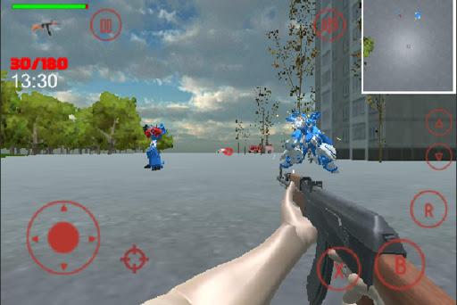 Attack Robot  trampa 2
