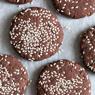 Chocolate Tahini Cookies Recipe