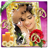 Wedding frame photo effects