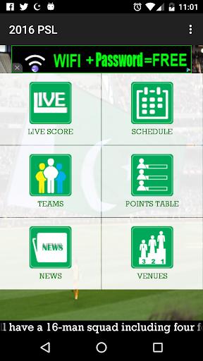 PSL Matches Teams