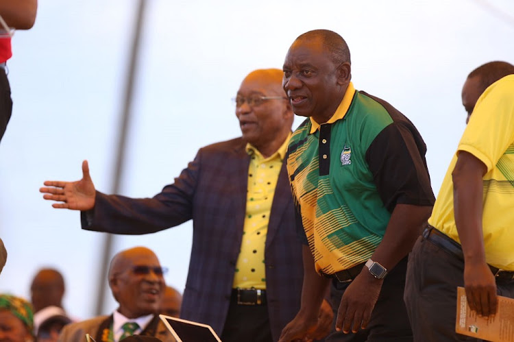 ANC president Cyril Ramaphosa indicated on Sunday that a decision on President Jacob Zuma's exit could be within the next day or so.