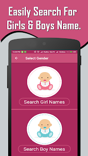 English Baby Girl & Boy Names With Meaning 1.3 Ad Free 3