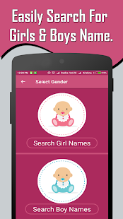 Download English Baby Girl & Boy Names With Meaning for Windows Phone apk screenshot 3