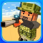 Block Battle 3D Shooting Games Icon