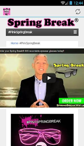 SpringBreak® Rewards