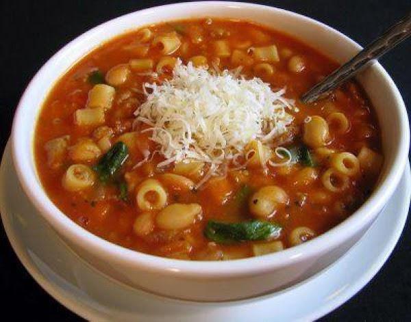 Easy Pasta E Fagioli (pasta & Beans) Recipe