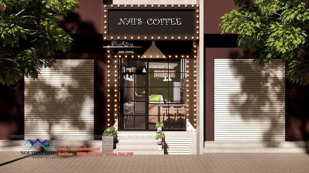 Thiết kế quán trà sữa đẹp và hiện đại