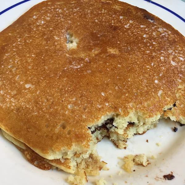 Delicious gluten free pancakes!