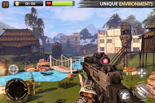 Real Commando Secret Mission - Free Shooting Games  screenshots 6