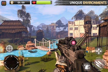 Real Commando Secret Mission Mod Apk Latest v7.2 (Unlimited) 6