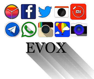 Evox - Icon Pack v1.0.3