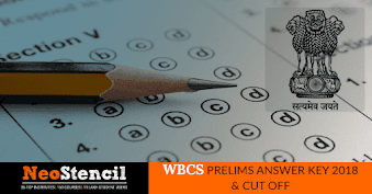 WBCS Prelims Answer key 2020 (Released)